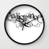 renaissance Wall Clocks featuring renaissance by Jit Dhillon