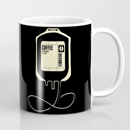 Coffee Transfusion - Black Coffee Mug