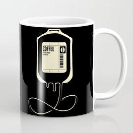 Coffee Transfusion - Black Coffee Mug