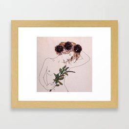 GIBSON GIRL Framed Art Print