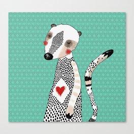 My meerkat Canvas Print