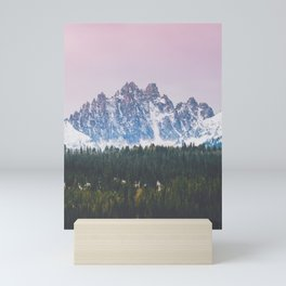 Sawtooth Mountains Sunrise Mini Art Print