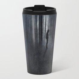Raven  + Man Travel Mug