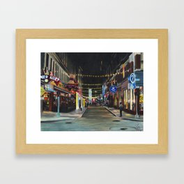 """Memories From East 4th Street"" Framed Art Print"