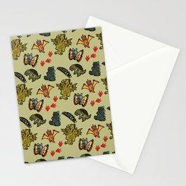 Kaiju Party Stationery Cards
