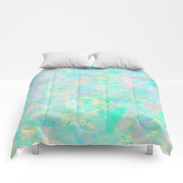 Light Blue Opal Comforters