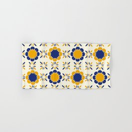 Lisboeta Tile Hand & Bath Towel