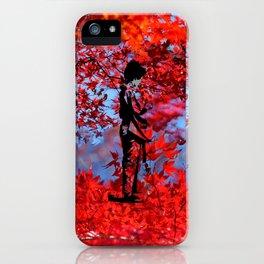 Autumn Kimono iPhone Case