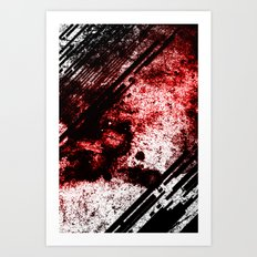 red out Art Print