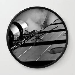 London building abstract  Wall Clock