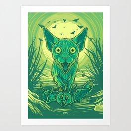 Lovely Dark Creatures series - Hortus Art Print