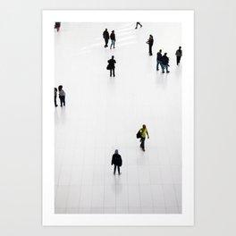 NYC Commuters Art Print