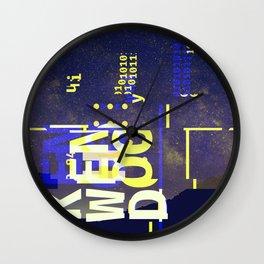 GLITCH CITY #23: Kenwood Wall Clock