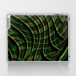 Green wave ,green Laptop & iPad Skin
