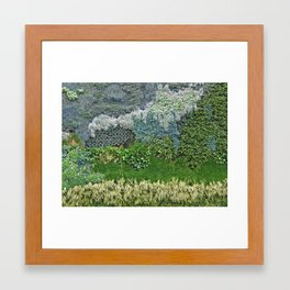 Vertical Garden Framed Art Print