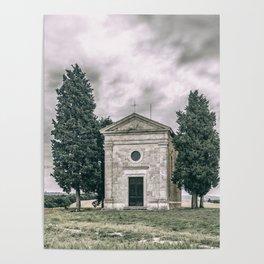 Cappella della Madonna di Vitaleta Poster