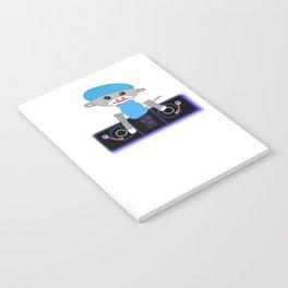 Dj Monkey Notebook