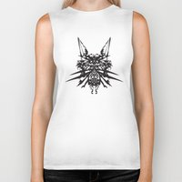 insects Biker Tanks featuring Poisonous İnsects by kartalpaf