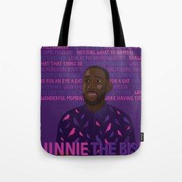Winston Bishop Tote Bag