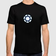IRON MAN X-LARGE Black Mens Fitted Tee