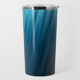 Blue Texture Travel Mug