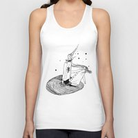alabama Tank Tops featuring Alabama by La Bande