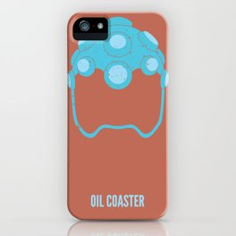 Hakan - Oil Coaster iPhone Case