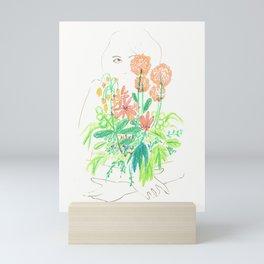 Flower flower Mini Art Print
