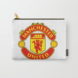 Manchester United Logo Carry-All Pouch