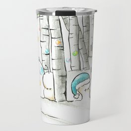 Cubabas in Winter Travel Mug