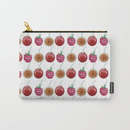 fresh fruits and cocktail rolls Carry-All Pouch