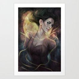 Blackheart Art Print