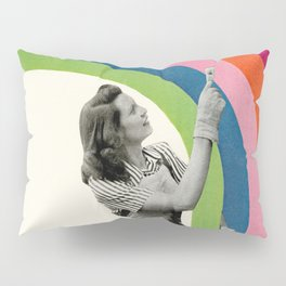 Paint a Rainbow Pillow Sham