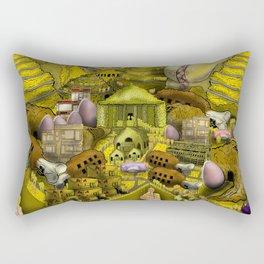 Batterland Rectangular Pillow