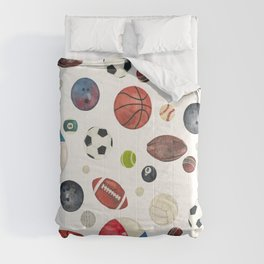 Sports fever Comforters