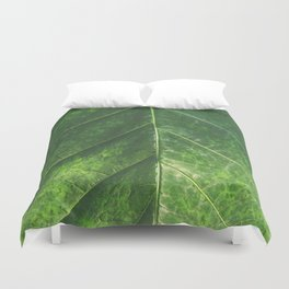 Botanical Gardens Leaf #101 Duvet Cover