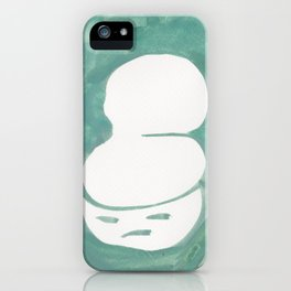 2  | Faces Watercolour 181216 | What Did You Say? iPhone Case