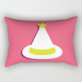 White Magic Rectangular Pillow