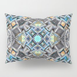 Colorful Geometric Structure Pillow Sham