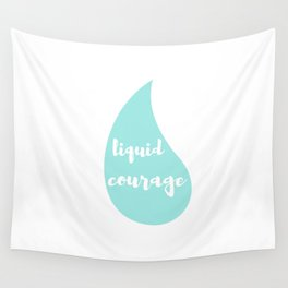 Liquid Courage Wall Tapestry
