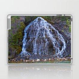 Cascading Waterfall in Maligne Canyon in Jasper National Park, Canada Laptop & iPad Skin