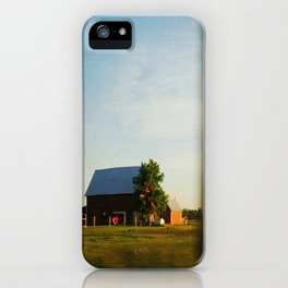Midwest Red Barn iPhone Case