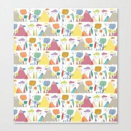 Spring pattern 3 Canvas Print