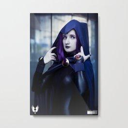 [SZ] Raven 3 Metal Print