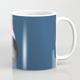 2001 a Space Odyssey, Stanley Kubrick alternative movie poster, dark blue  classic film, cinema love Coffee Mug
