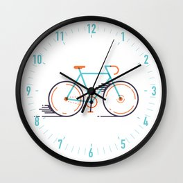 speed bike Wall Clock