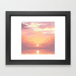Horizon V2 Framed Art Print