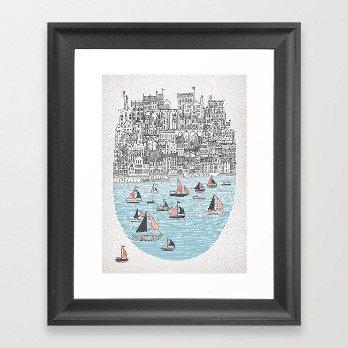 Joppa City of Refuge Framed Art Print