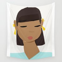 egypt Wall Tapestries featuring Egypt by TatyMolanphy