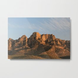 The majesty of the mountains at Catalina State Park I Metal Print